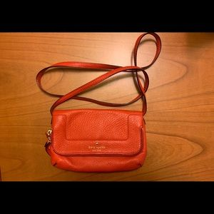 Pebbled leather Kate Spade purse